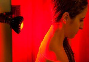 نور مادون قرمز به گوش