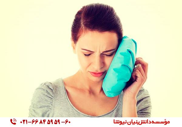 درمان عفونت گوش با کمپرس