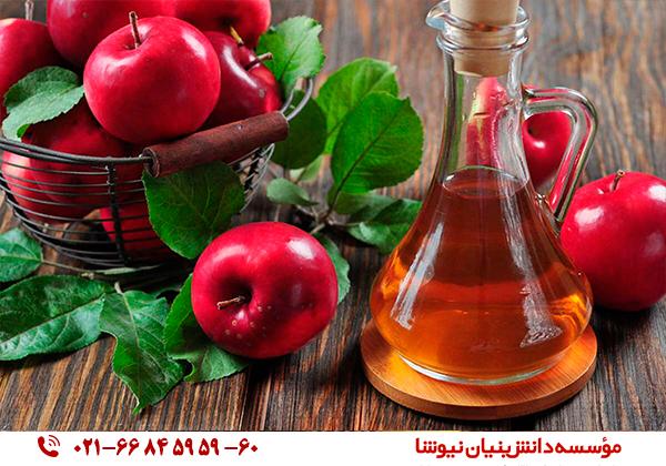 درمان عفونت گوش با سرکه سیب